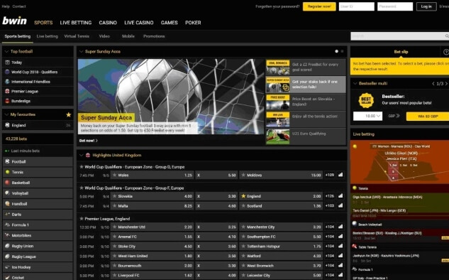 bwin sports betting is among the best