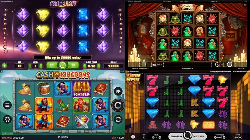 Huge slot games collection