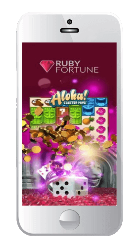 Download the Ruby Fortune Casino mobile app and play on all of your devices