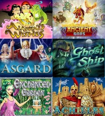 Big collection of slot games