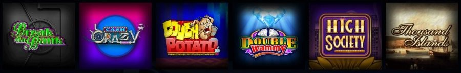 The casino has more than 400 popular slot games
